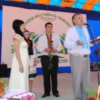 Мініатюра - Вручення почесного звання (Лемківська Ватра 2012)